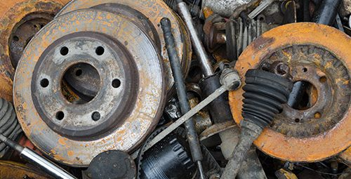 automotive scrap metal recycling, ed arnold