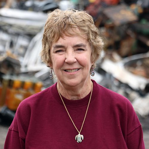 sandy eveland, ed arnold scrap processors