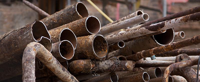 scrap lead pipe, ed arnold scrap processors
