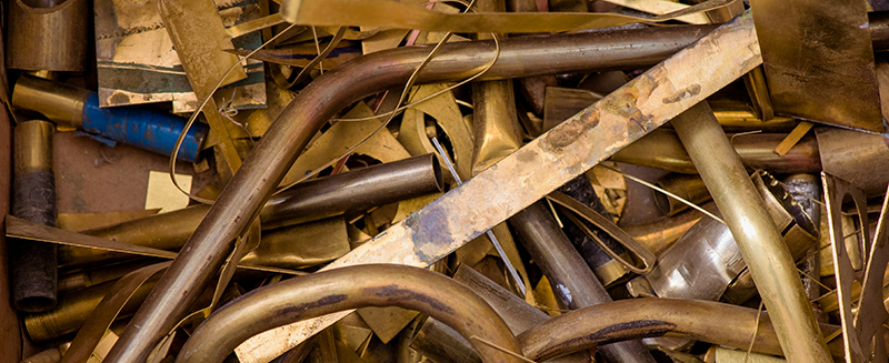 brass scrap metal recycling, ed arnold scrap