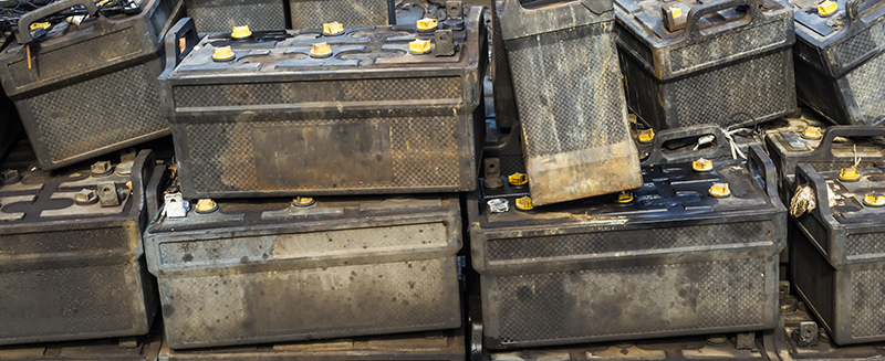 lead acid battery recycling, ed arnold scrap