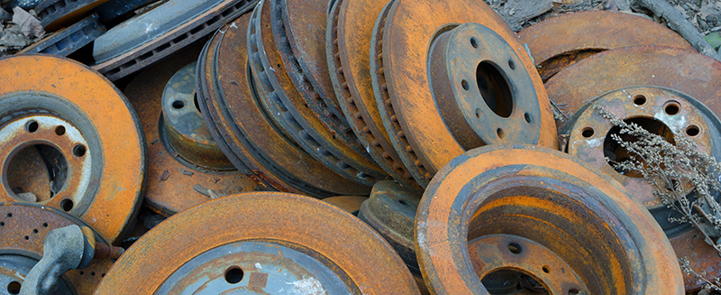 automotive rotors recycling, ed arnold scrap