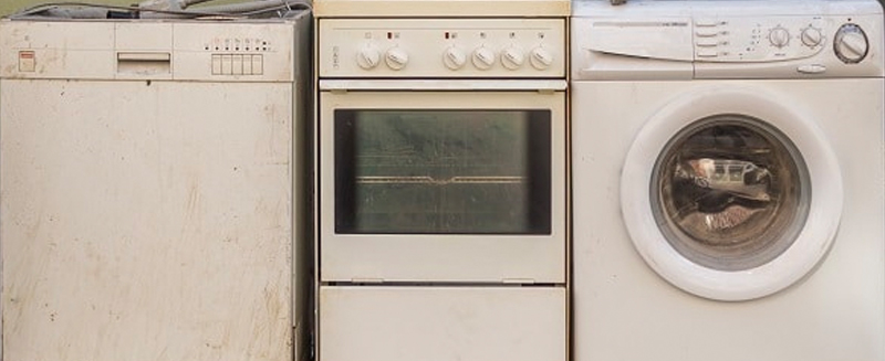 recycle old machines and appliances